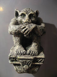 Little Hunched Gargoyle by DungeonStock