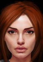Young Lara Croft by saccharinesweet