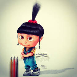 Cute Agnes by samiahdagher