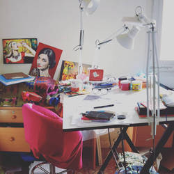 My workspace by samiahdagher