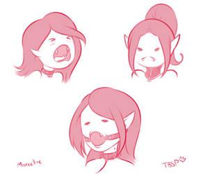 Marceline in Collars by TBSP-Art