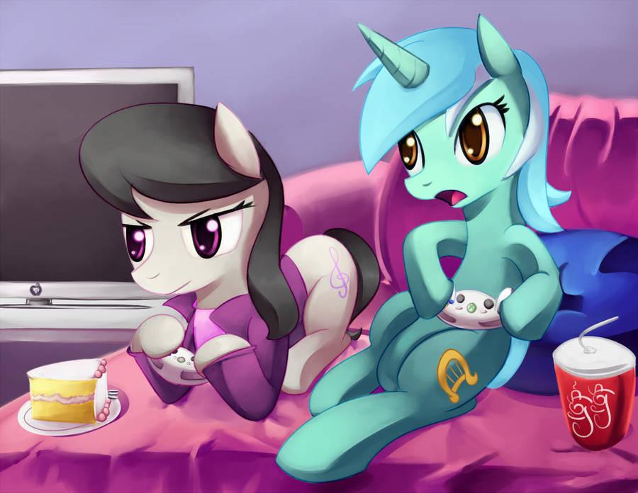 video_game_ponies_by_velglorth_d4j4s07-f
