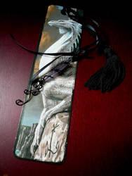 Dragon Crystal Bookmark Charm by Starlit-Sorceress