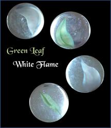 Green Leaf, White Flame by Starlit-Sorceress