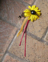 Autumn Sunflower (Fancy Hair Flower) by Starlit-Sorceress