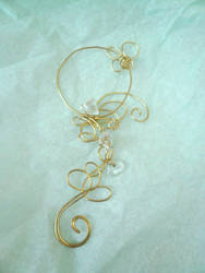 Blossom Song: Wire-Wrapped Bubble Wand by Starlit-Sorceress