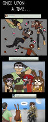 RWBY Group Community Comic 8 by knives4cash