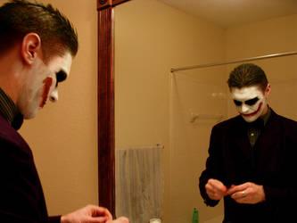 Joker's Makeup by Sansaii