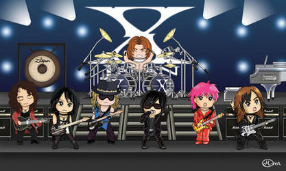Chibi X JAPAN Concert by maluchan