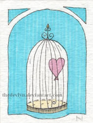 Caged Heart by TheDevlyn