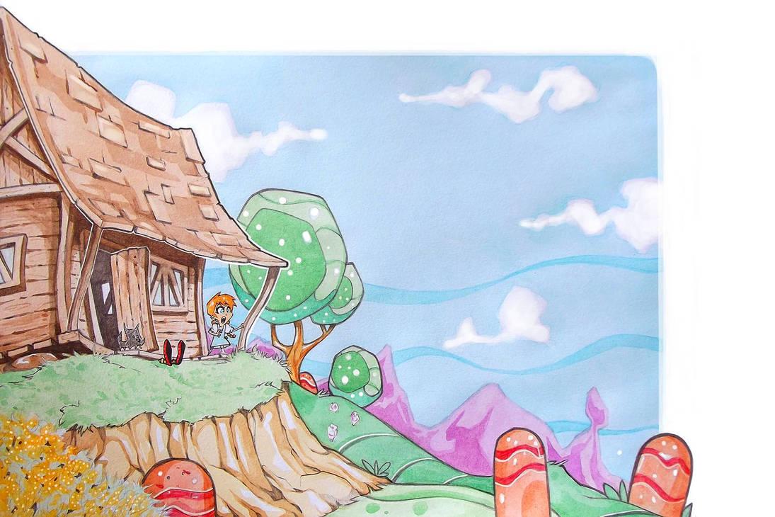 Oz childrens book by renecordova