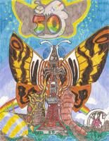 Mothra's Fiftieth Anniversary by BLARGEN69
