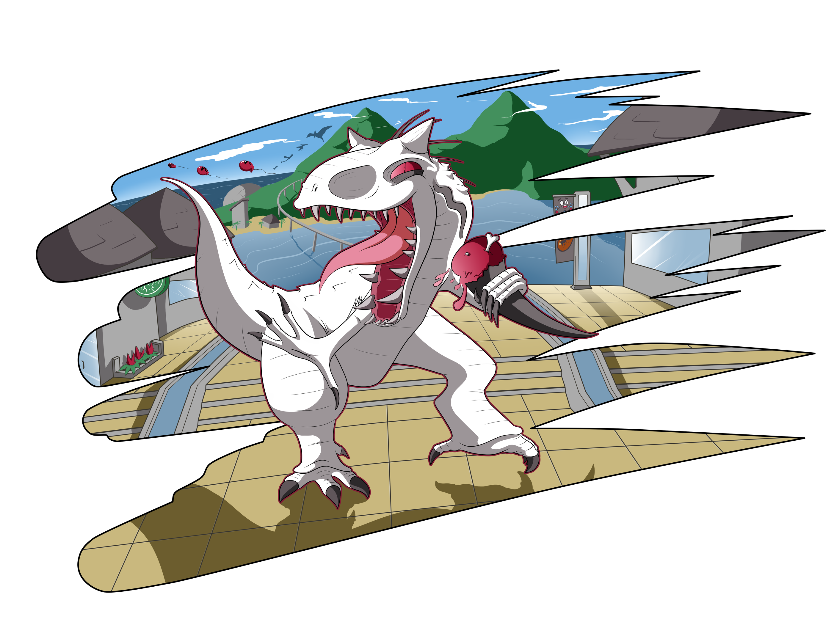 We Have an I-Rex by BLARGEN69