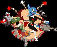 [COM] Explosive Personalities by BLARGEN69