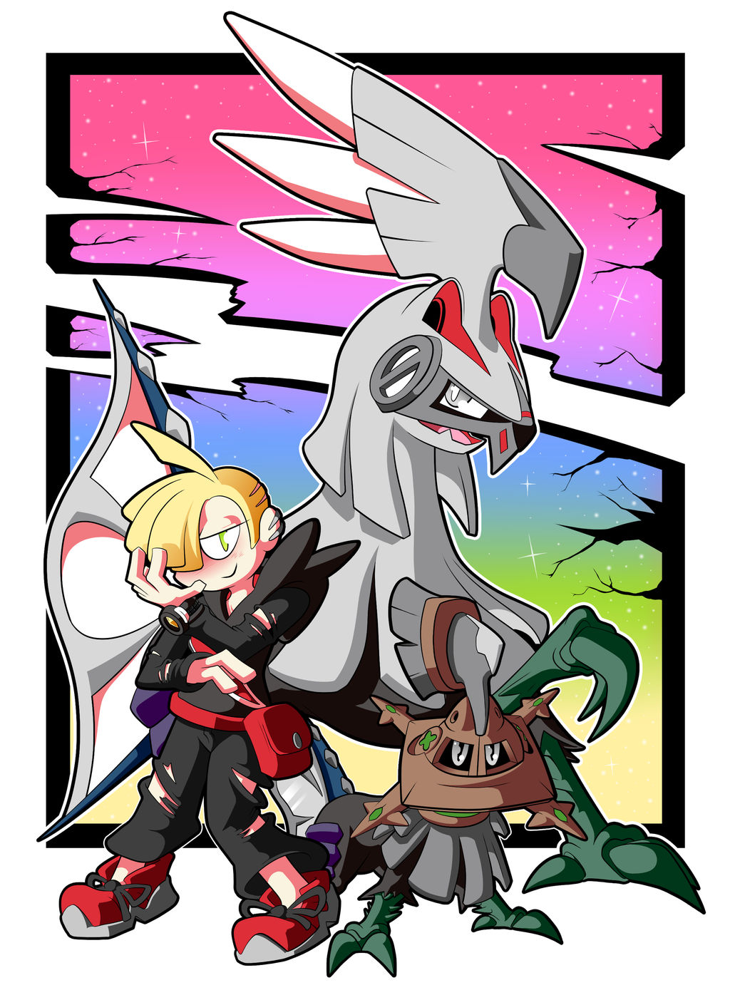 A Boy and his Beast Killer by BLARGEN69