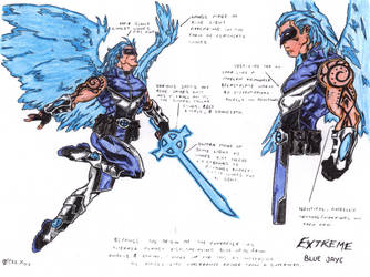 EXTREME Bluejaye Colors by gwdill