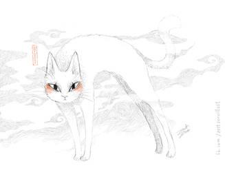QQ the Cat by zestzero