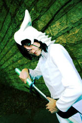 Ulquiorra cosplay by juunana