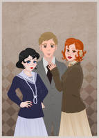 Muriel Peter Emily by skelly-jelly