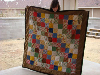 Happy Camper Quilt by skelly-jelly
