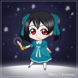 Merry Christmas Nico-chan by skelly-jelly