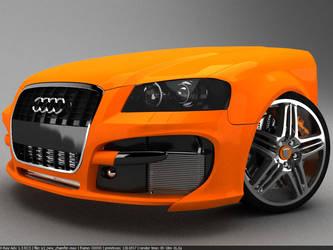 Audi S3 WIP8 by Pisci