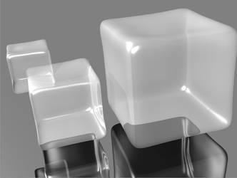 3 ice cubes by m1lk3rman