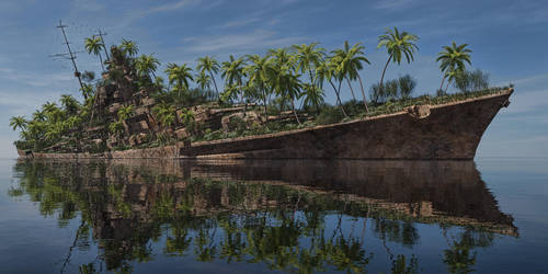 Palm Island by SwissAdA