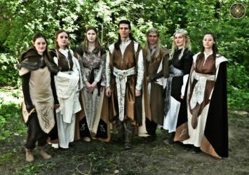 Larp group of elves - The Celendrim by ElorielElenril