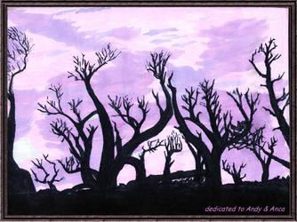Tree Cemetery by darklight76