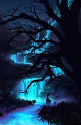Glowing River by Yatzenty