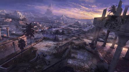 Postapocalyptic Babylon by Yatzenty