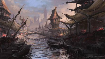 River market by Yatzenty