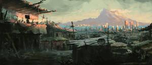 Volcano City by Yatzenty