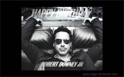 Robert Downey Jr Bday53 By Gizza Sigyn Sp by Gizza-Sigyn
