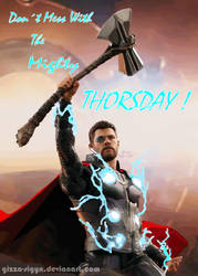 Thorsday StormBreaker  By Gizza Sigyn Sp by Gizza-Sigyn