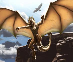 Wings were meant for flying by tekuryuu