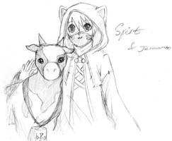Spirt And His Cow by Akainai