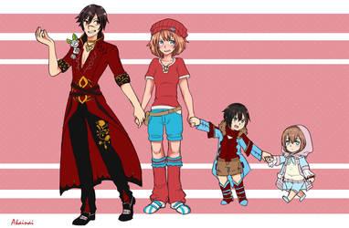 Holiday Family Art Contest by Akainai