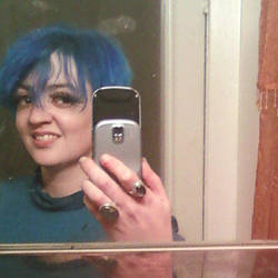 blue hair 14 by RookinherRookery