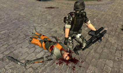 The death of Gordon freeman. by Red-Riley