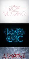 Fullmetal Alchemist Typography by rockinrobin