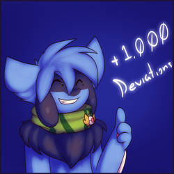 1000 Deviations by Xael-The-Artist