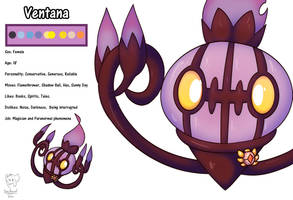 Ventana the Chandelure by Xael-The-Artist