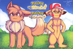 Let's go Eevee and Let's go Pikachu by Xael-The-Artist