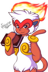 Jayce the Infernape by Xael-The-Artist
