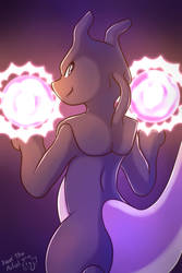 Onyx the Mewtwo by Xael-The-Artist