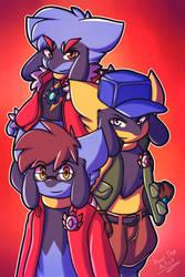 Riolu gang! by Xael-The-Artist