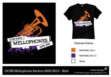 OCHS Mellophone Shirt 2009 by mirako-hikaru