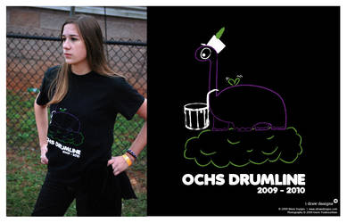 OCHS Drumline 2009 - Shirt by mirako-hikaru